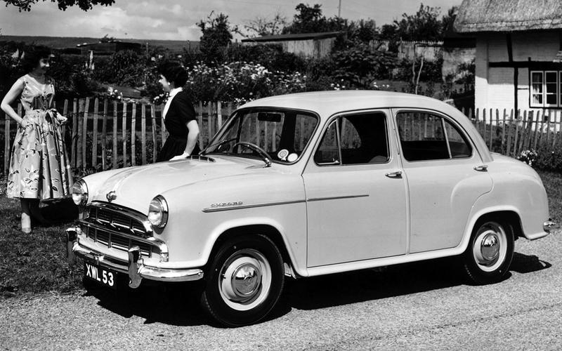 Morris Oxford Series III - then