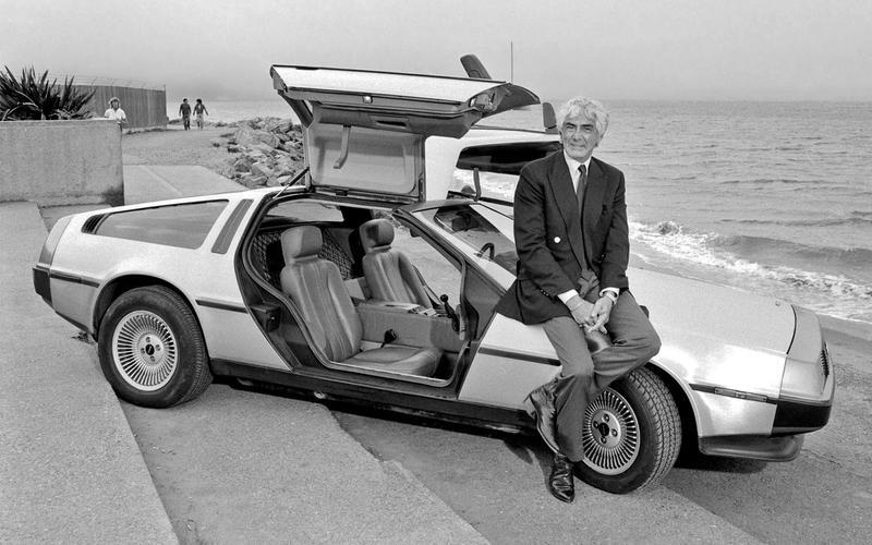 DeLorean DMC-12 - then