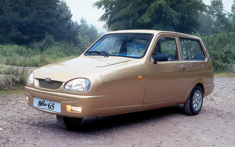 Reliant Robin - then