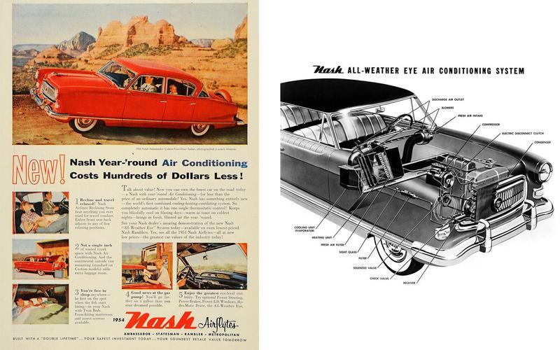 AIR CONDITIONING: Nash Ambassador (1953)