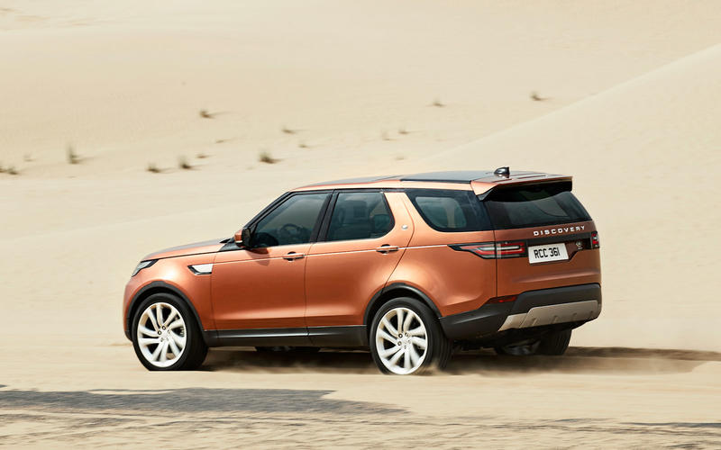 Land Rover Discovery 5 (2016)