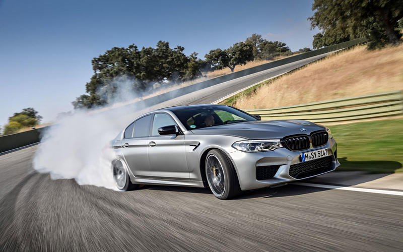 BMW M5 Competition Package (2018)