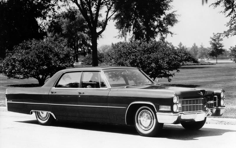 HEATED SEATS: Cadillac DeVille (1966)