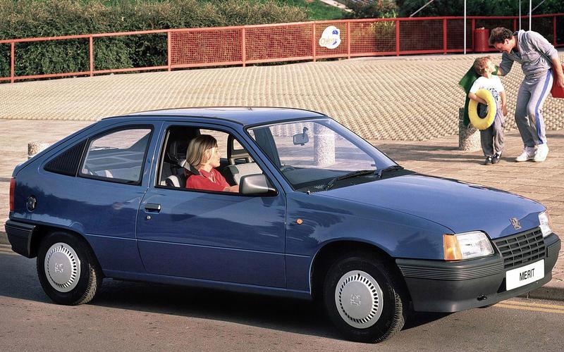 Opel Kadett (1984) – 9 models