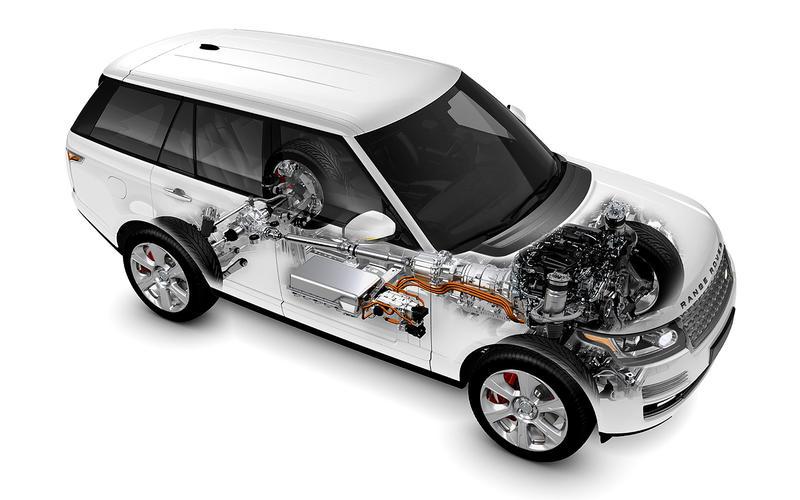The first Range Rover hybrid