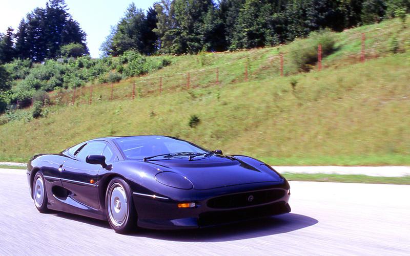60. 1993 Jaguar XJ220