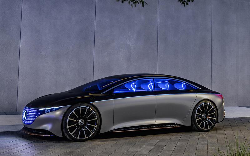5: Mercedes-Benz Vision EQS