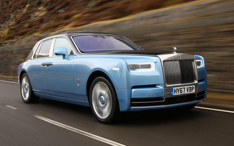 10: Rolls-Royce Phantom