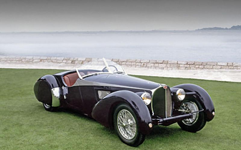 59. 1938 Bugatti 57s Corsica (NO CHANGE)