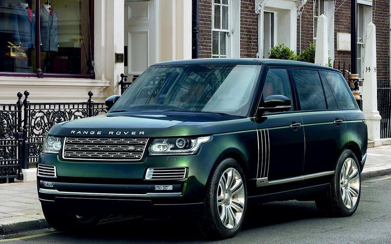 The £180,000 Range Rover