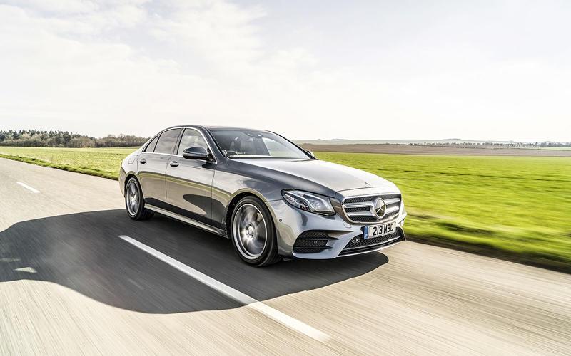 9: Mercedes-Benz E-class