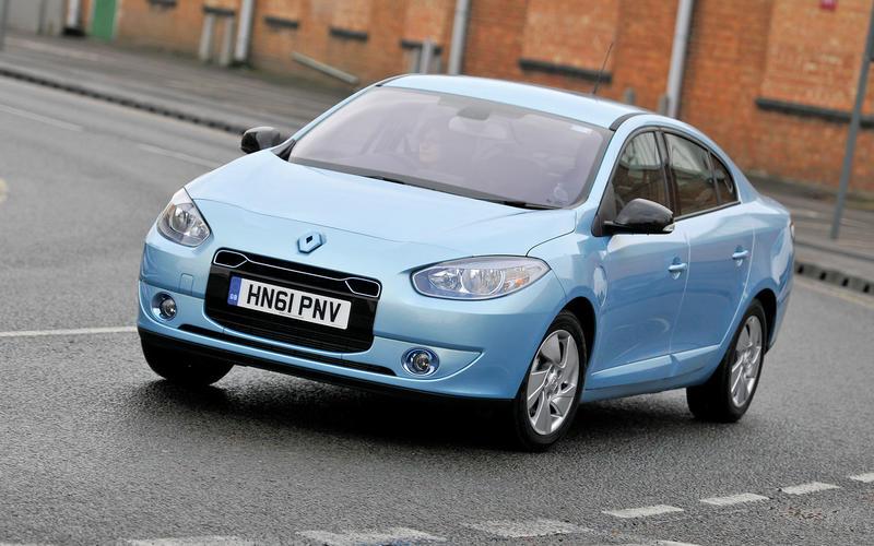 Renault Fluence EV (2012-13)