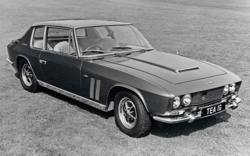 MECHANICAL ABS BRAKES: Jensen FF (1968)