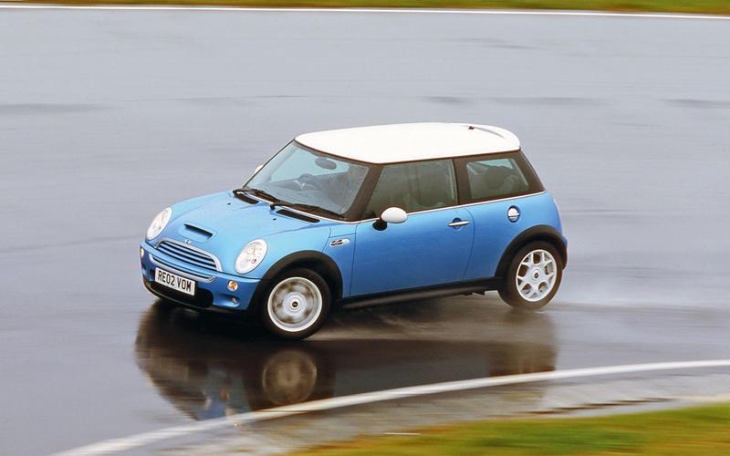 58. 2001 Mini Cooper - NEW ENTRY