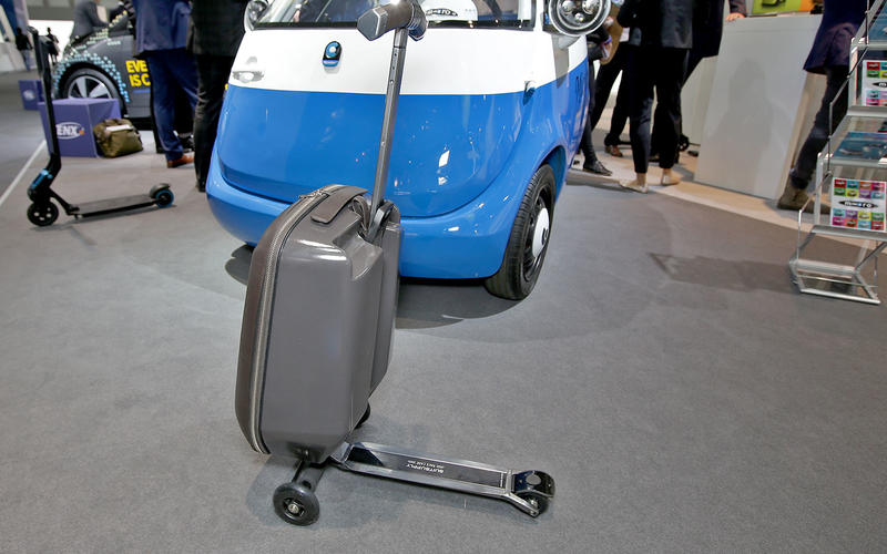 Suitcase-scooter