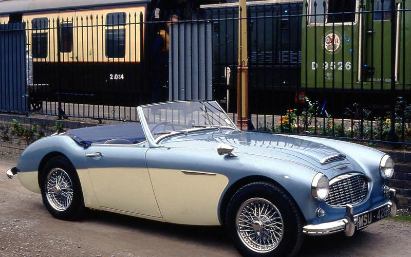 57. 1955 Austin Healey 100M