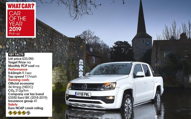 Overall Pick Up winner: Volkswagen Amarok 3.0 TDI BMT 204 4Motion Trendline auto