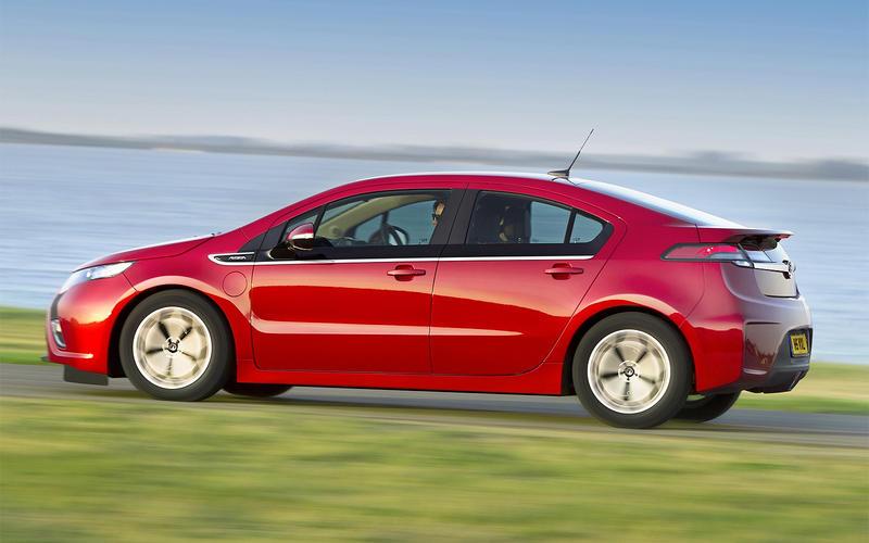 2012: Vauxhall Ampera