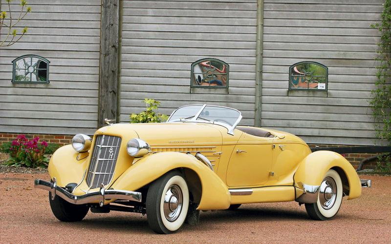 56. 1934 Auburn Speedster (UP 1)