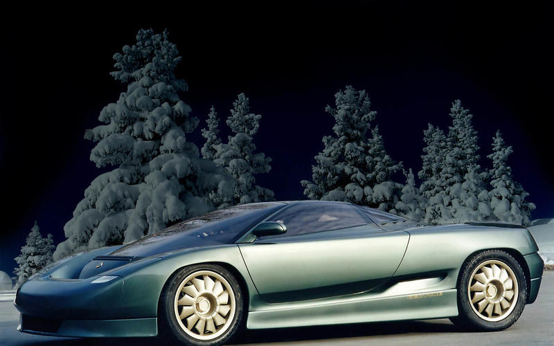 Lotus Emotion/Bugatti EB 110 proposal