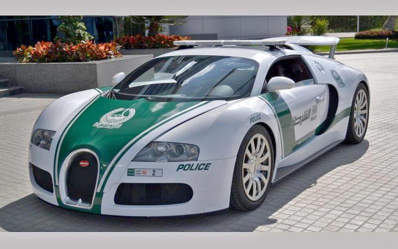 40: Bugatti Veyron (Dubai)