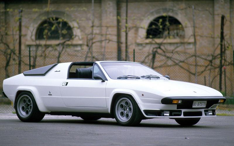 Lamborghini Silhouette - then