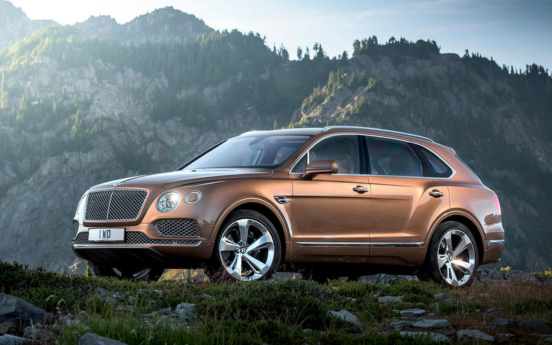 Bentley Bentayga (2015)