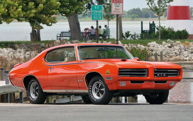 54. 1969 Pontiac GTO Judge (UP 1)