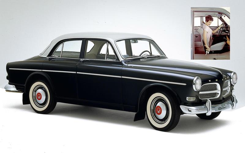 THREE-POINT SEATBELT: Volvo Amazon (1959)