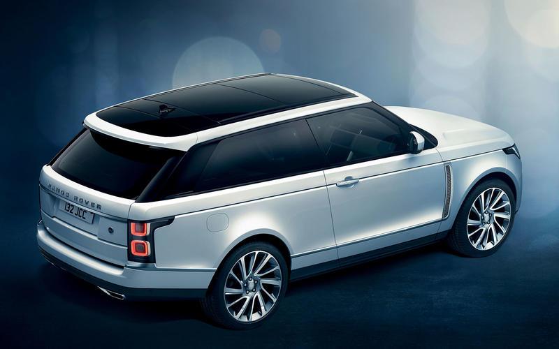 The first ever Range Rover coupé