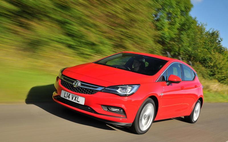 2016: Vauxhall Astra