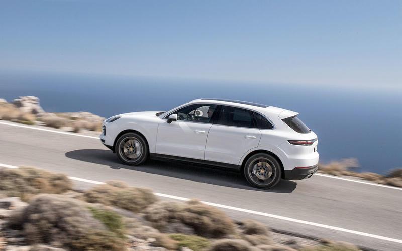 Porsche Cayenne Mk3 (2018)