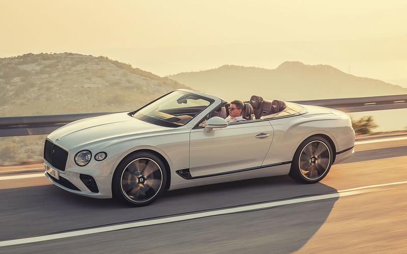 Bentley Continental GTC (2018)
