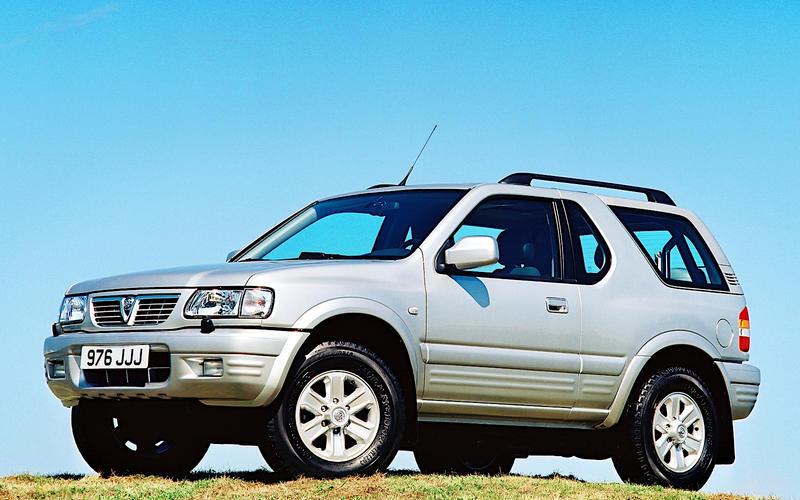 Vauxhall: Frontera