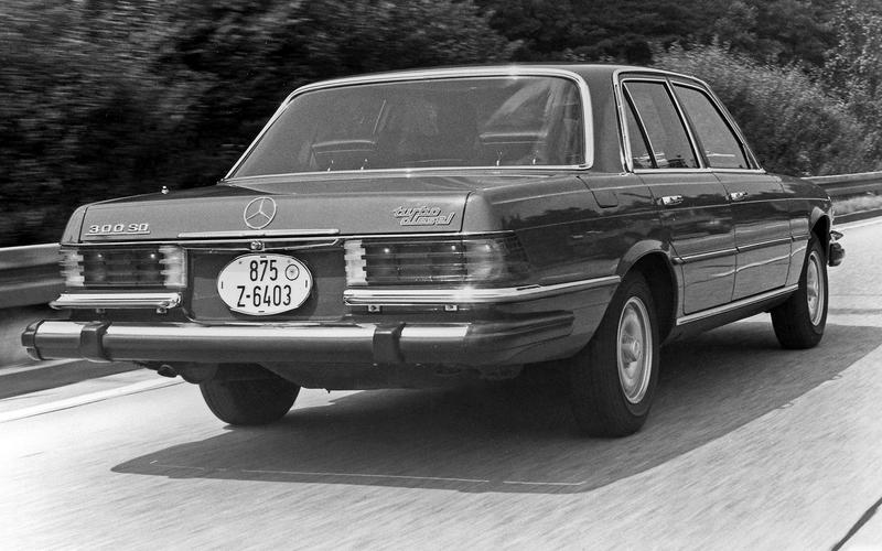 ELECTRONIC ABS BRAKES: Mercedes S-Class (1978)