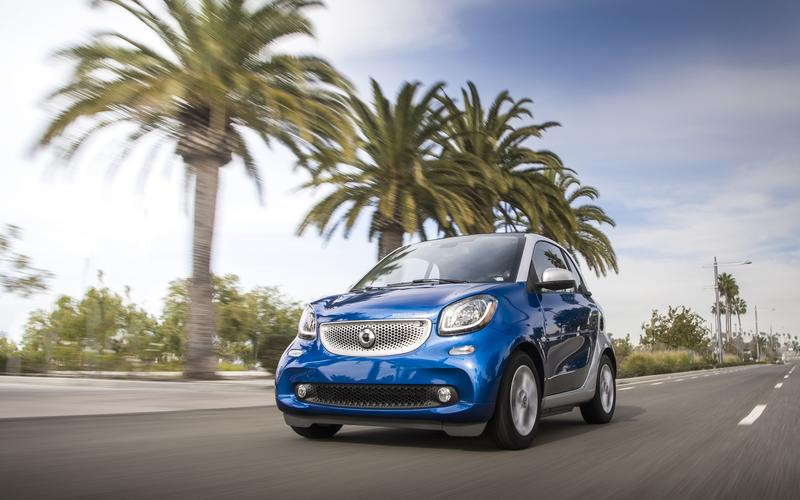 Smart Fortwo Electric Drive – 2363lb (1060kg)