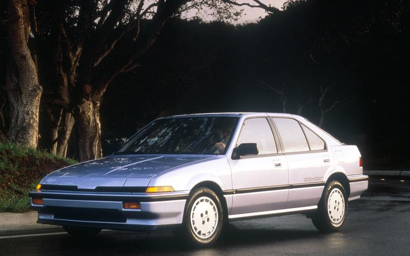 Acura's early models by the number (1987)