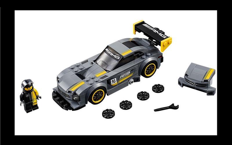 Mercedes-AMG GT3 (Speed Champions set #75877, US$18/£18)