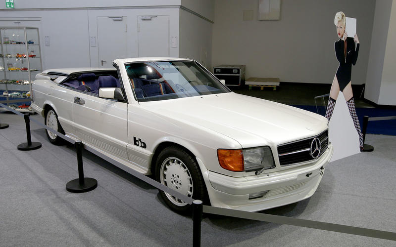 BB Mercedes 500 SEC Magic-Top