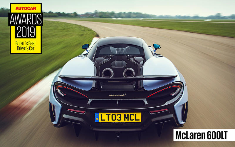 BEST DRIVER'S CAR: McLaren 600LT