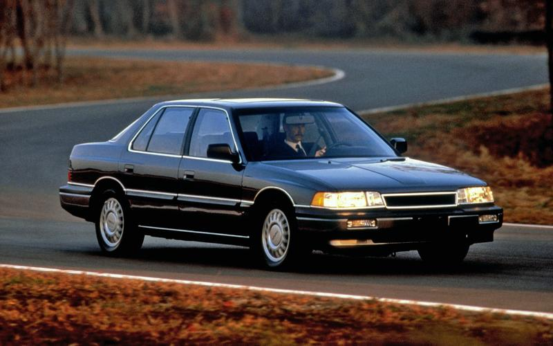 Honda's Acura brand (1986)