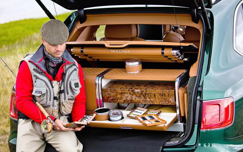 Bentley Bentayga: Fly Fishing by Mulliner set