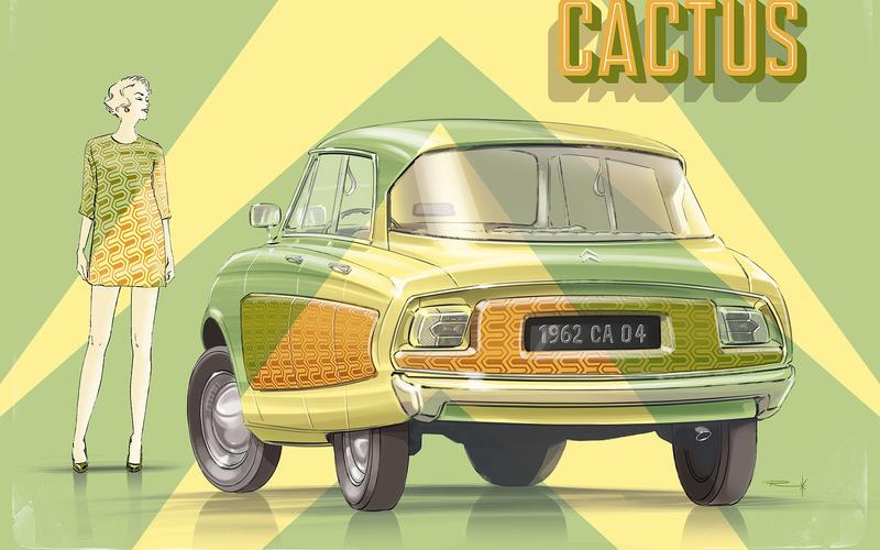 1962 CITROËNC IC - 'CITROEN CACTUS'