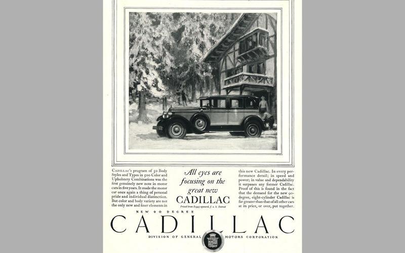 ELECTRIC WINDSCREEN WIPERS: Cadillac (1927)