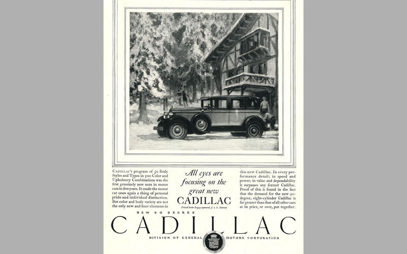 ELECTRIC WINDSCREEN WIPERS: Cadillac (1927)