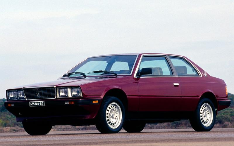 15: Maserati Biturbo (1984)