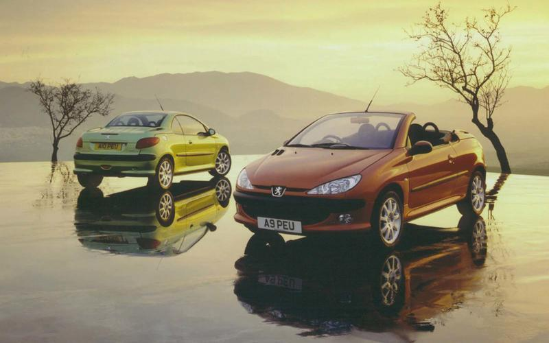 Peugeot 206 CC (from £500)