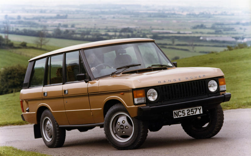 Range Rover In Vogue 1981 - static front