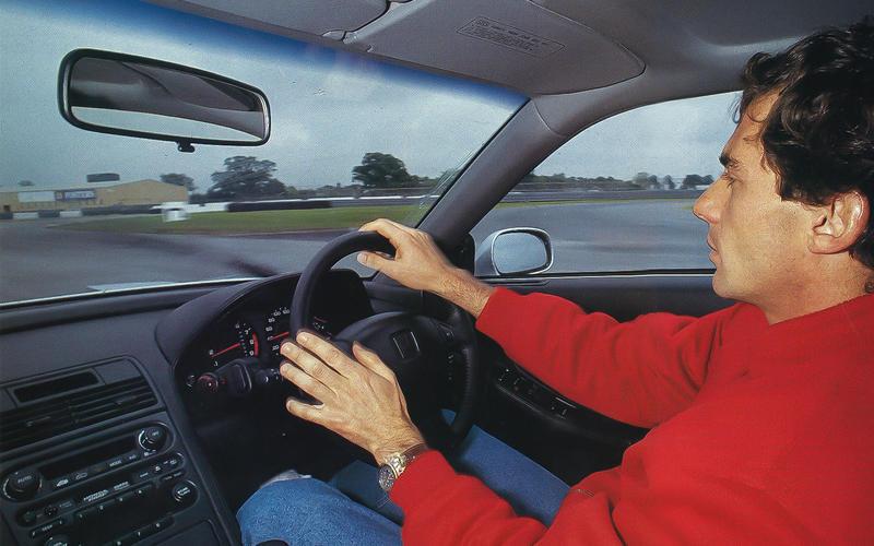 Race driver input