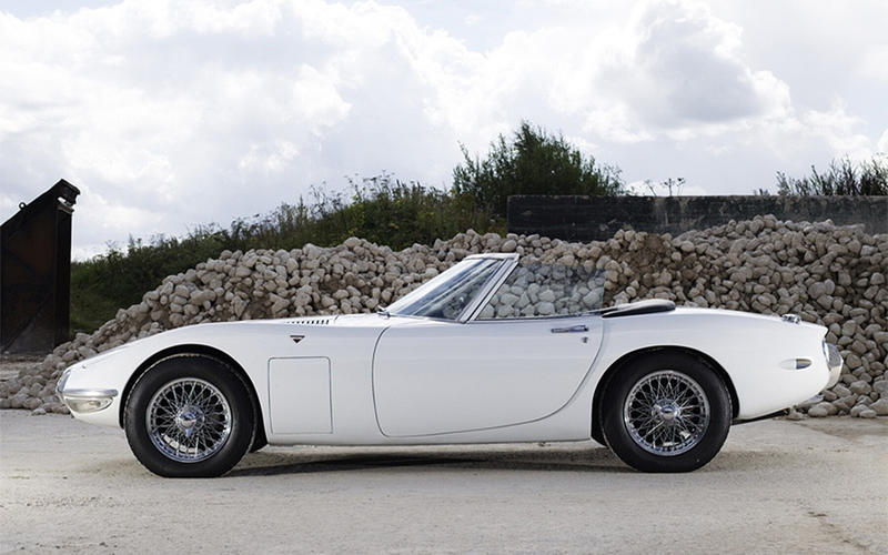 Toyota 2000GT Convertible (You Only Live Twice - 1967)